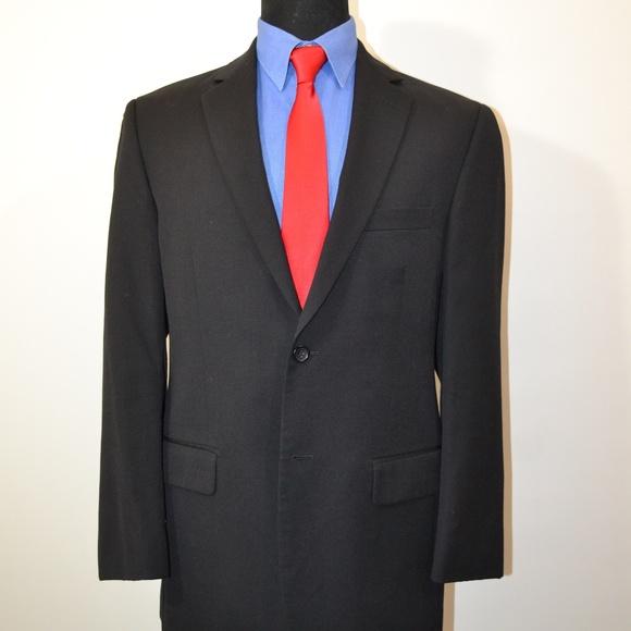 Pronto Uomo Other - Pronto Uomo 40R Sport Coat Blazer Suit Jacket Blac